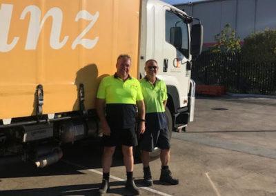 Cameron Fieldgate and Mark Davis, Flour Drivers Malaga