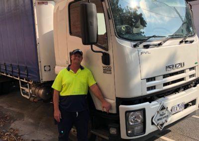 Jamie Tolmie, Flour Driver Melbourne